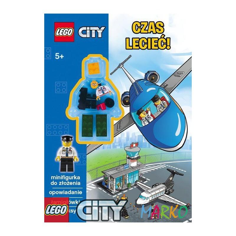 AMEET KSIĄŻKA LEGO + KLOCKI CITY    CZAS LECIEĆ