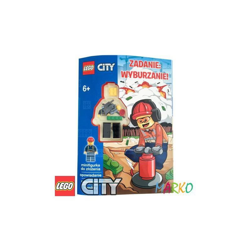 AMEET KSIĄŻKA LEGO + KLOCKI CITY  WYBURZANIE
