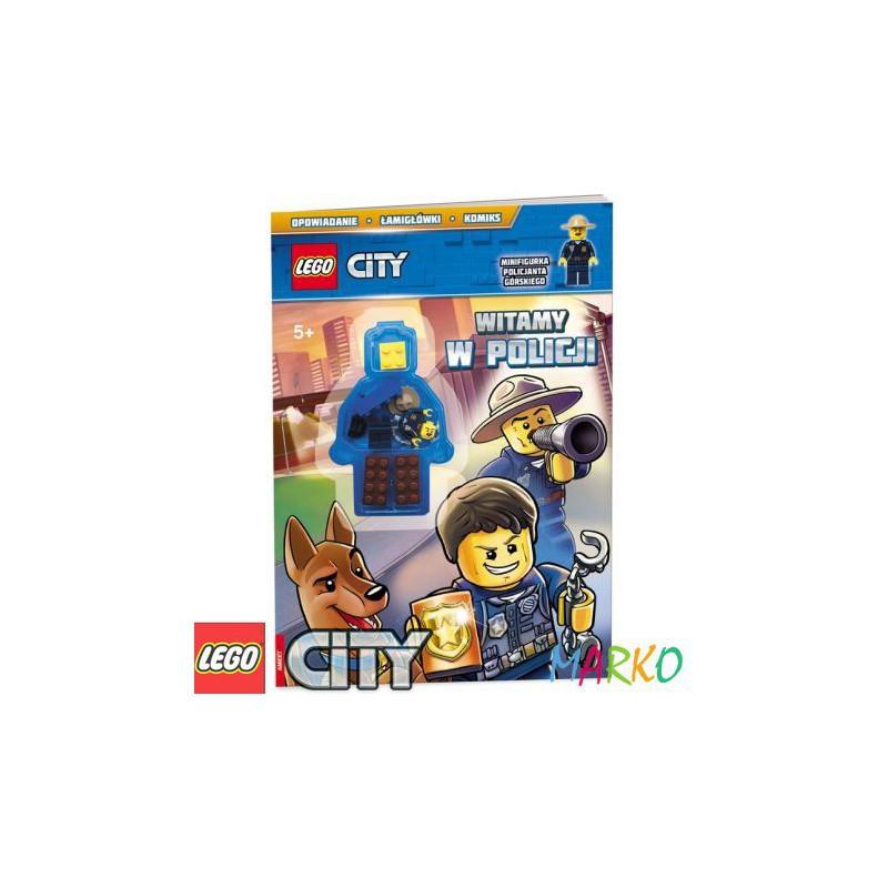 AMEET KSIĄŻKA LEGO CITY+KLOCKI WITAMY W POLICJI