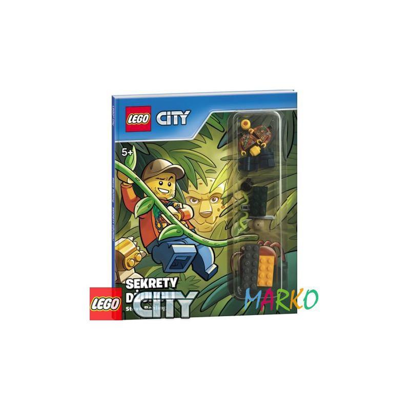 AMEET KSIĄŻKA LEGO+KLOCKI CITY SEKRETY DŻUNGLI
