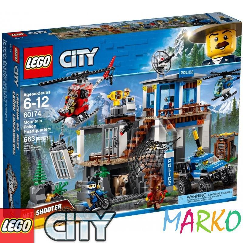 LEGO CITY 60174 GÓRSKI POSTERUNEK POLICJI