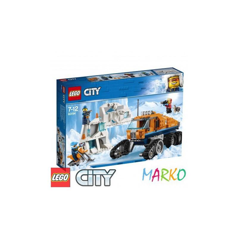 LEGO CITY 60194 ARKTYCZNA TERENÓWKA ZWIADOWCZA