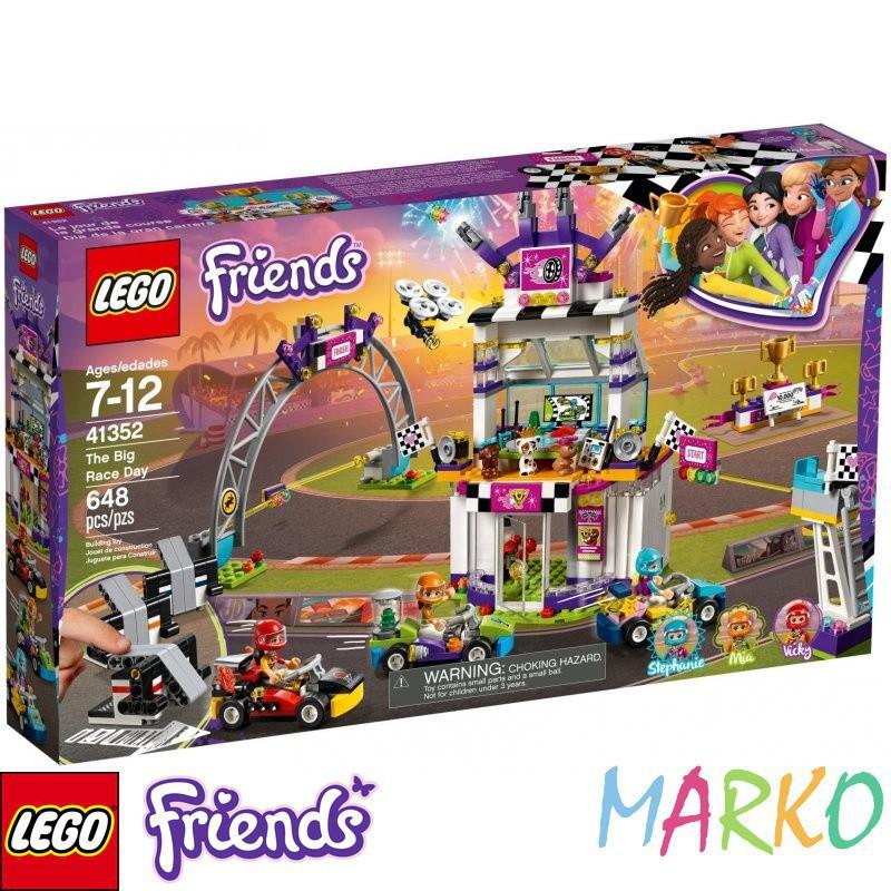 LEGO FRIENDS 41352 DZIEŃ WIELKIEGO WYŚCIGU