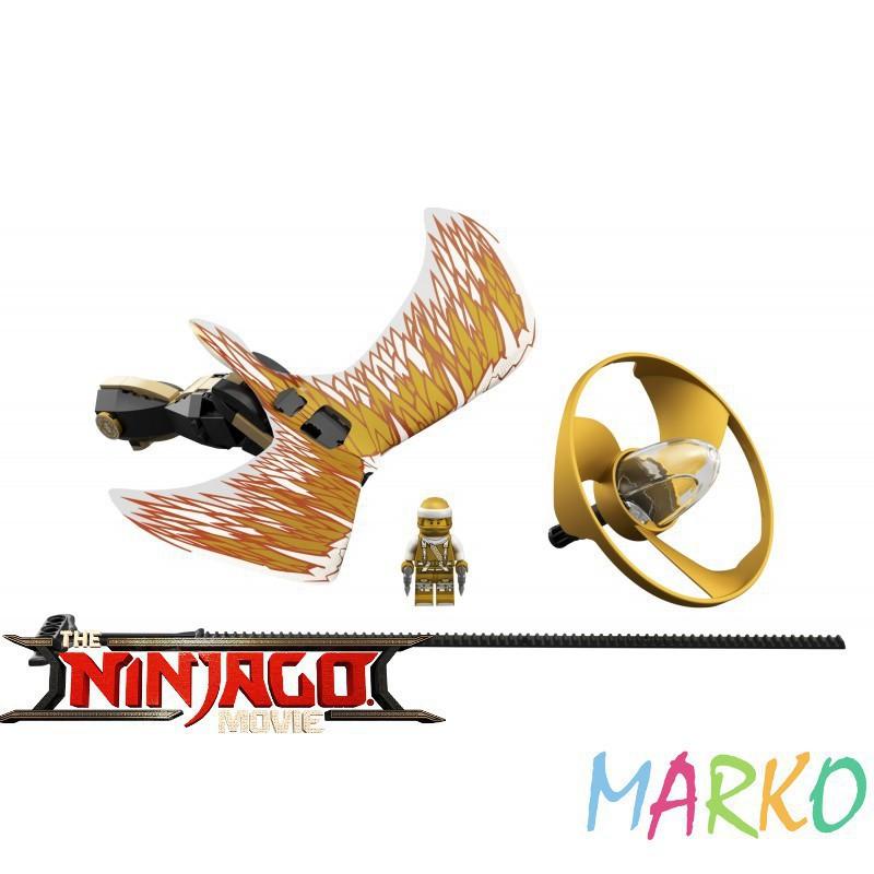 LEGO NINJAGO 70644 SMOCZY MISTRZ GOLDEN