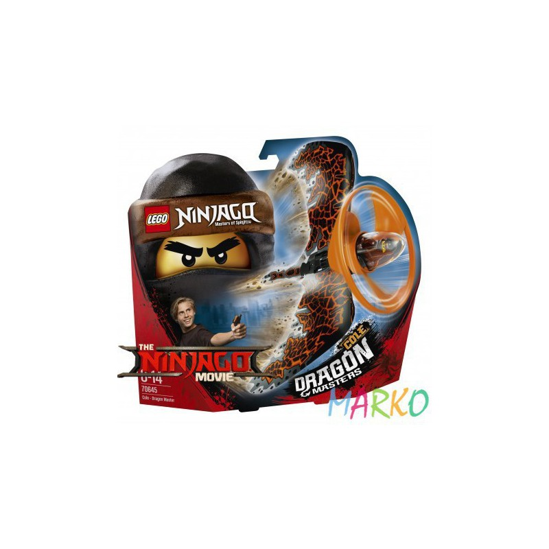 LEGO NINJAGO 70645 SMOCZY MISTRZ COLE