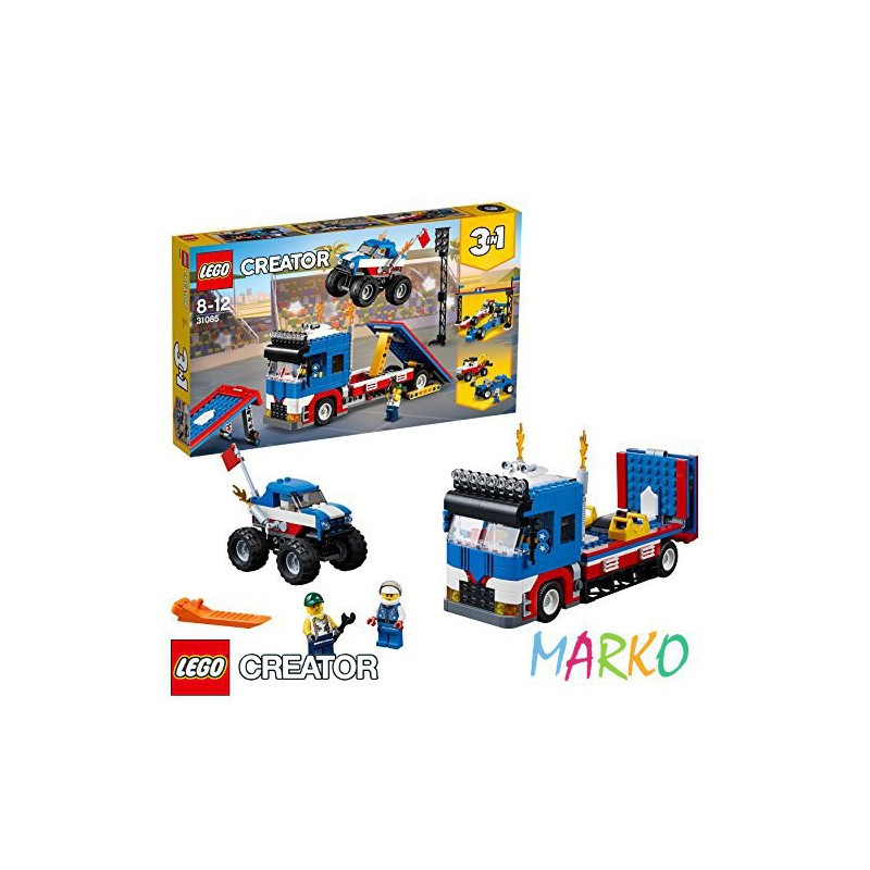 LEGO CREATOR 31085 POKAZ KASKADERSKI