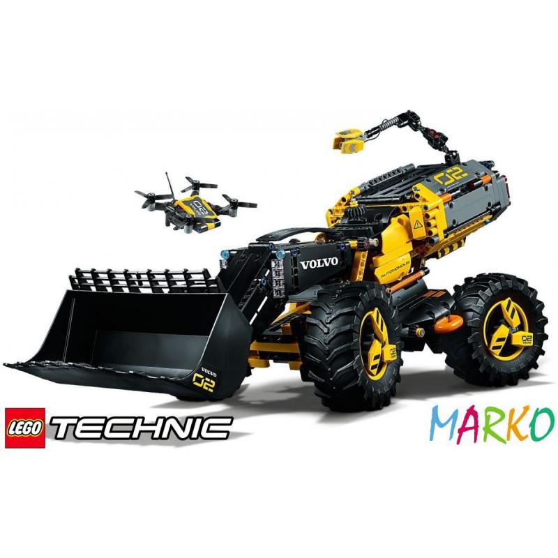 LEGO TECHNIC 42081 VOLVO ŁADOWARKA KOŁOWA ZEUX
