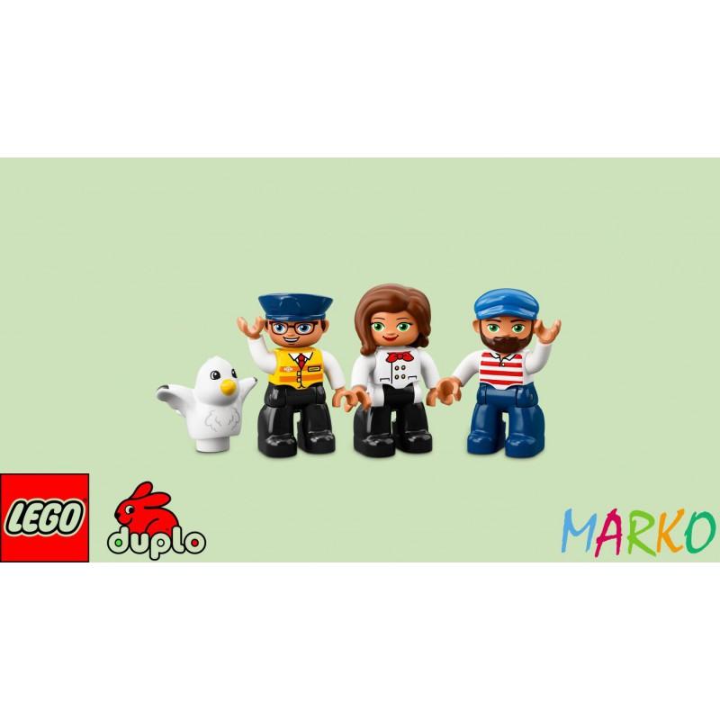 LEGO DUPLO 10875 POCIĄG TOWAROWY