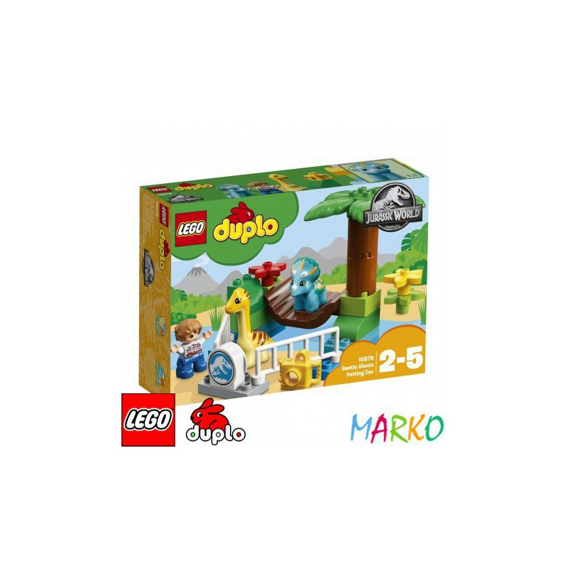 LEGO DUPLO 10879 JURASSIC WORLD MINI ZOO ŁAGODNE OLBRZYMY