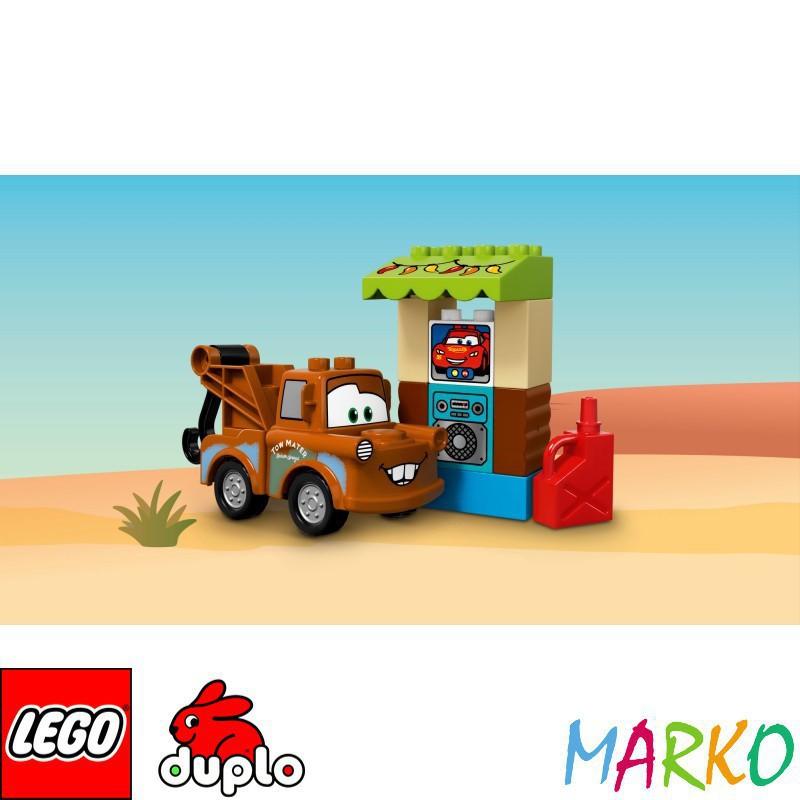 LEGO DUPLO CARS 10856 SZOPA ZŁOMKA