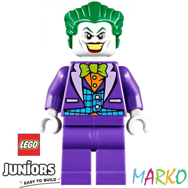LEGO JUNIORS 10753 ATAK JOKERA NA JASKINIE BATMANA