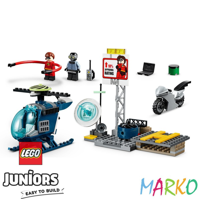 LEGO JUNIORS 10759 POŚCIG ELESTYNY