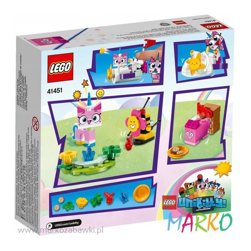 LEGO UNIKITTY 41451 CHMURKOWY POJAZD KICI RÓŻEK