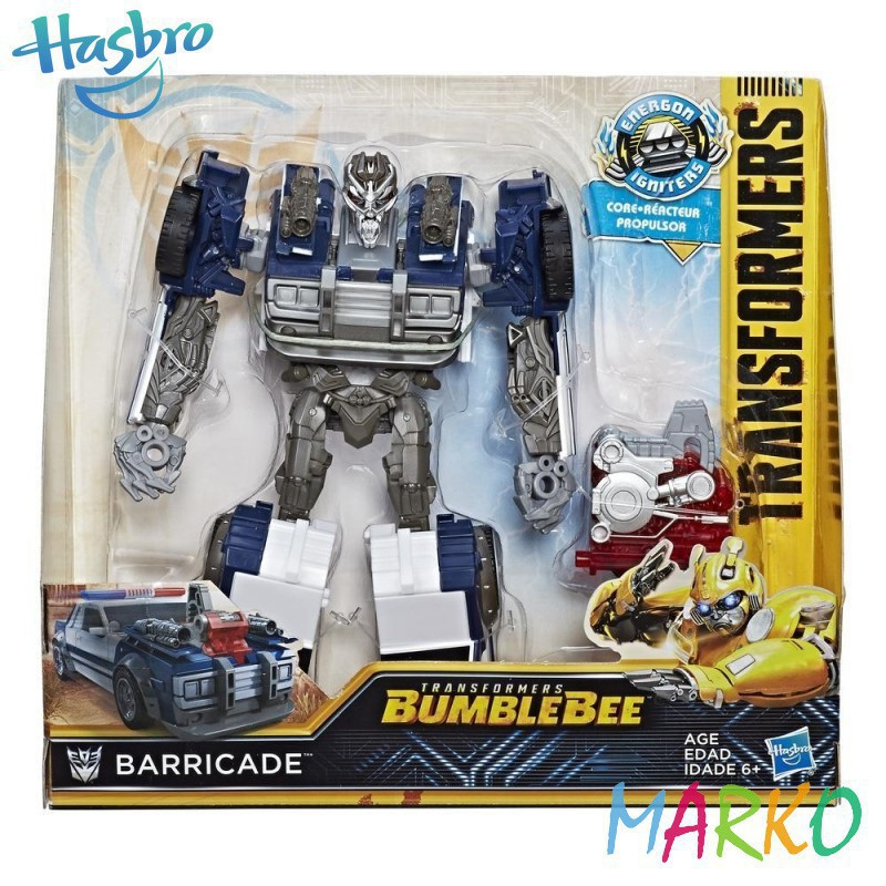 HASBRO TRANSFORMERS MV6 BARRICADE
