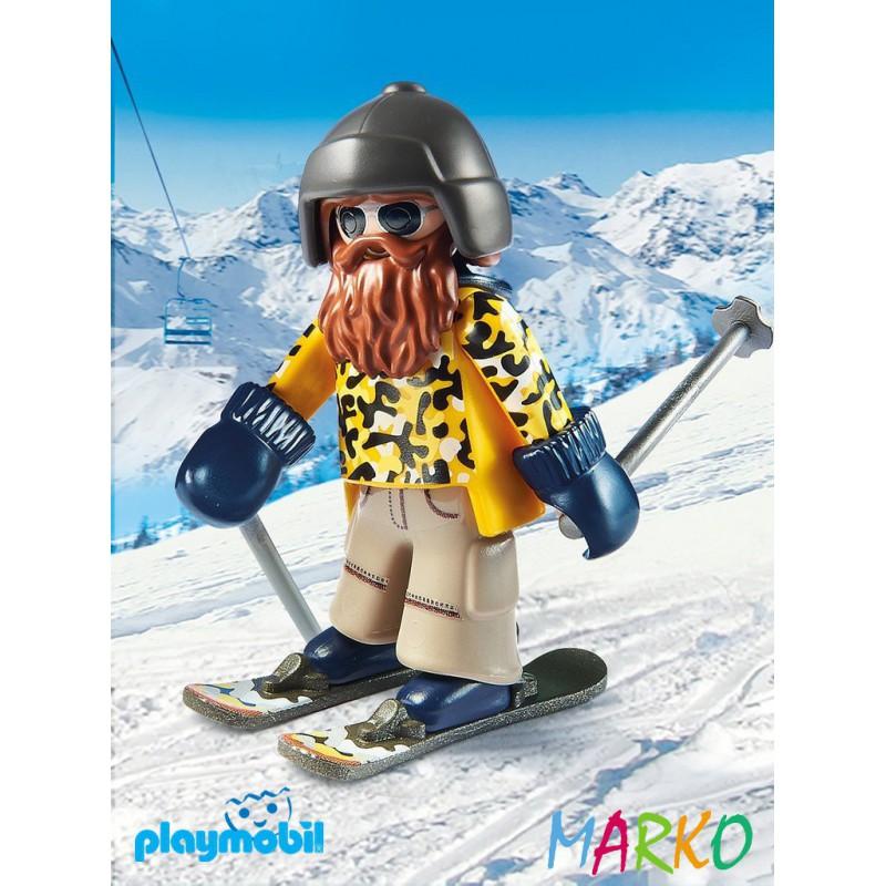 PLAYMOBIL 9284 NARCIARZ NA NARTACH SNOWBLADE