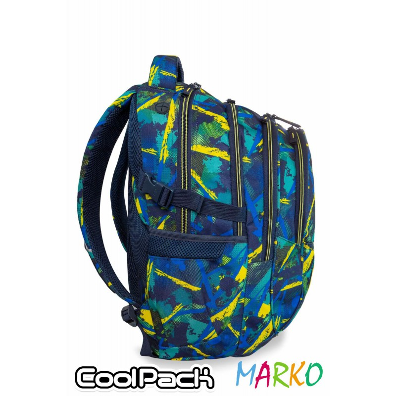 COOLPACK PLECAK FACTOR 29L ABSTRACT YELLOW-B02007