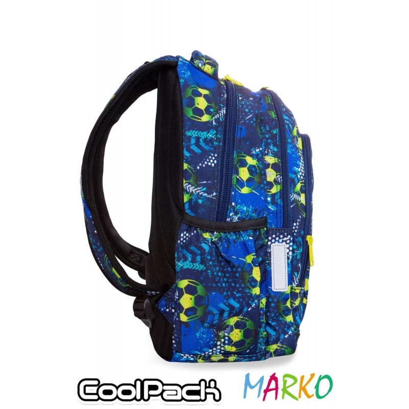 COOLPACK PLECAK PRIME 23L FOOTBALL BLUE-B25037