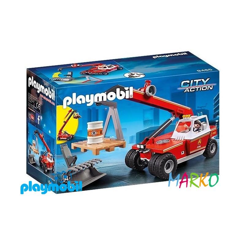 PLAYMOBIL 9204 SPEED ROLLER BLUE