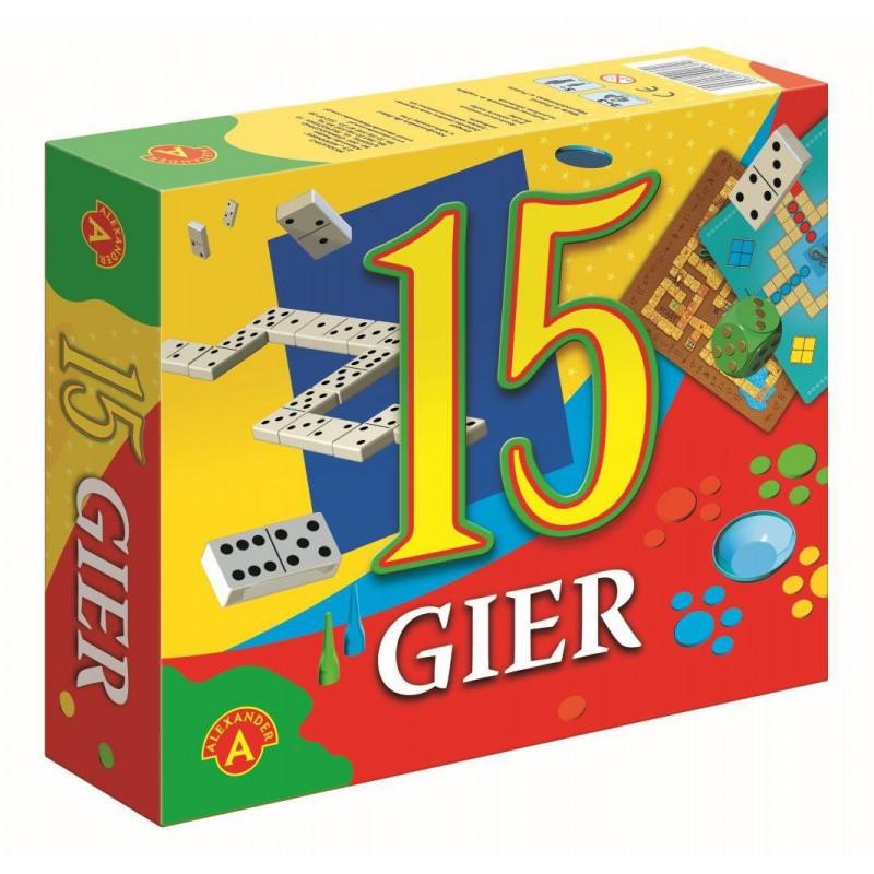 ALEXANDER ZESTAW 15 GIER