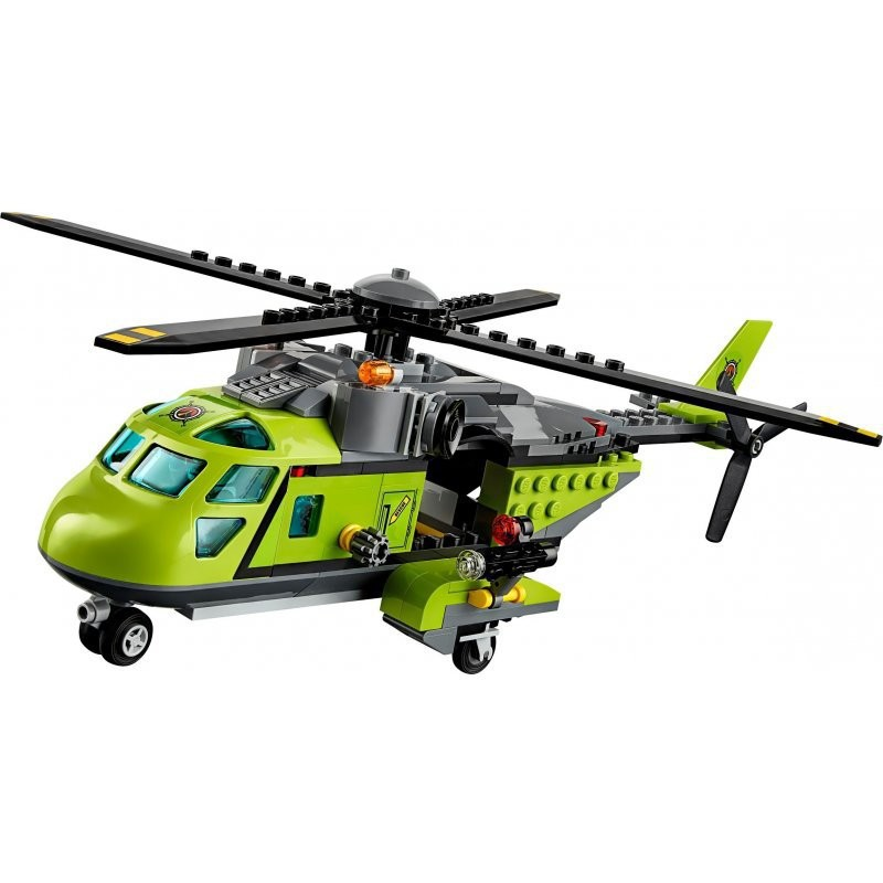 LEGO CITY 60123 WULKAN  HELIKOPTER DOSTAWCZY