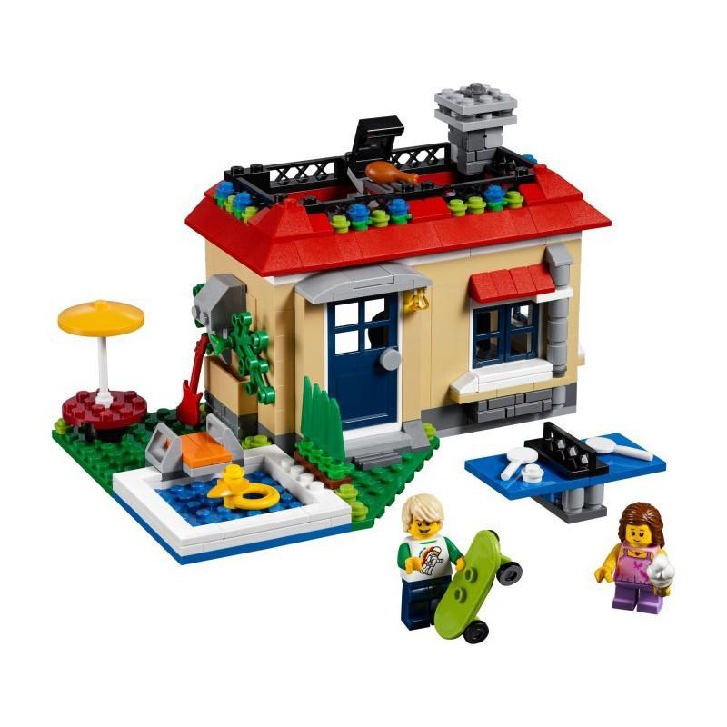 LEGO CREATOR 31067 WAKACJE NA BASENIE