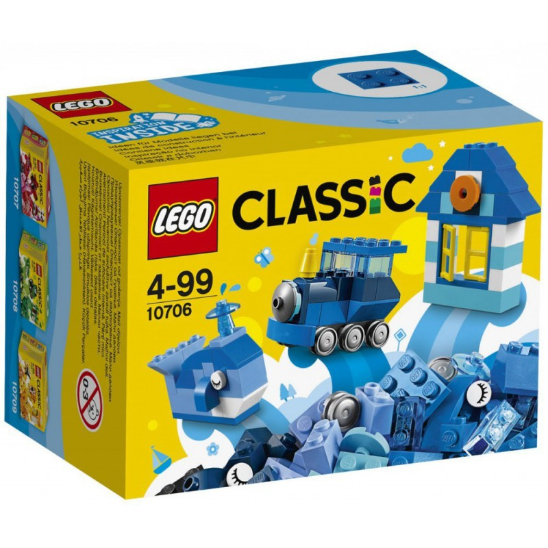 LEGO CLASSIC 10706 ZESTAW KREATYWNY NIEBIESKI