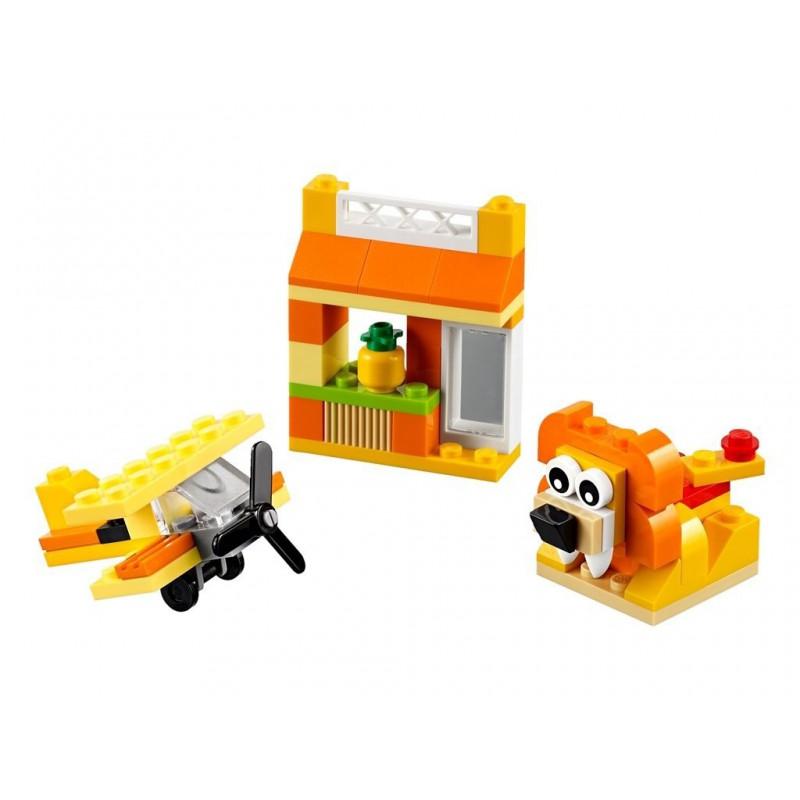 LEGO CLASSIC  10709 POMARAŃCZOWY ZESTAW KREATYWNY