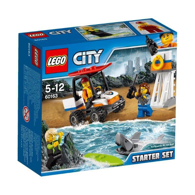LEGO CITY 60163 STRAŻ  RATOWNICY ZESTAW STARTOWY