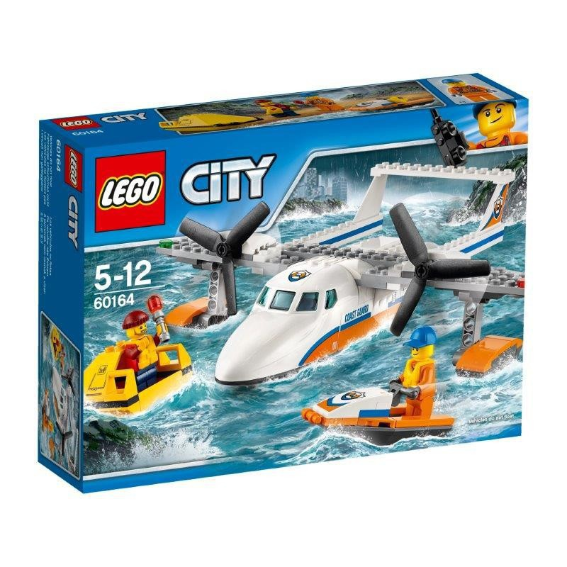 LEGO CITY 60164 HYDROPLAN RATOWNICZY