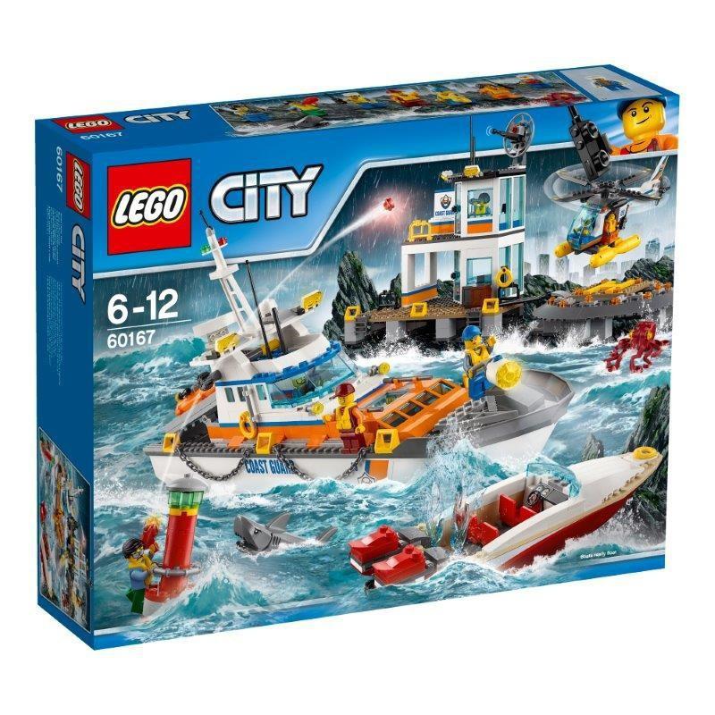 LEGO CITY 60167 KWATERA STARŻY PRZYBRZEŻNEJ