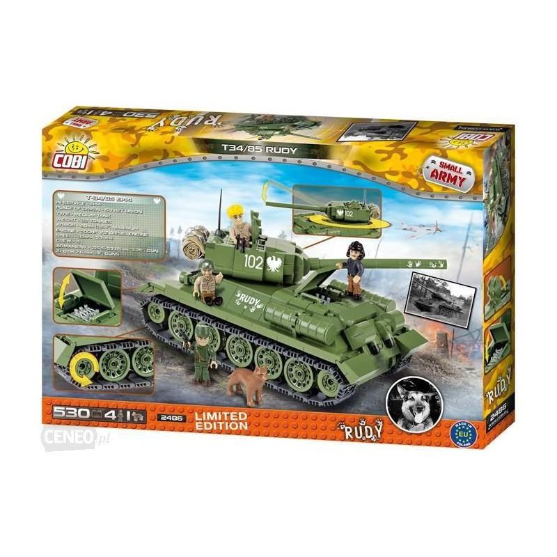 COBI ARMIA T34/85 RUDY 2486