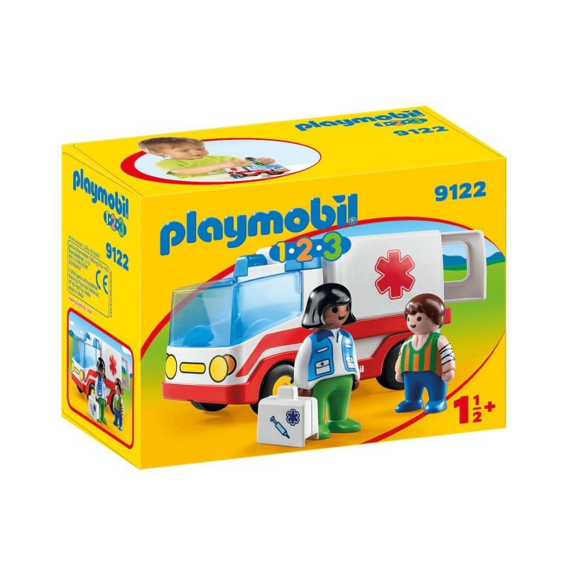 PLAYMOBIL 1 2 3, 9122 KARETKA