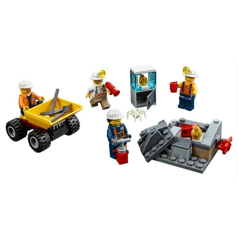 LEGO CITY 60184 EKIPA GÓRNICZA