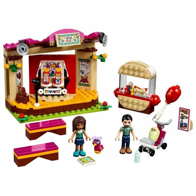 LEGO FRIENDS 41334 POKAZ ANDREI W PARKU