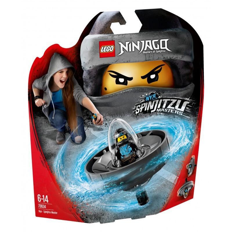 LEGO NINJAGO 70634 NYA MISTRZ SPINITZU