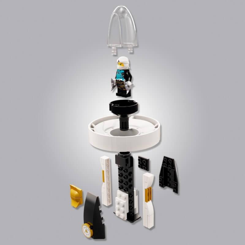LEGO NINJAGO 70636 ZANE MISTRZ SPINITZU