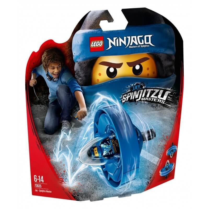 LEGO NINJAGO70635 JAY MISTRZ  SPINJITZU