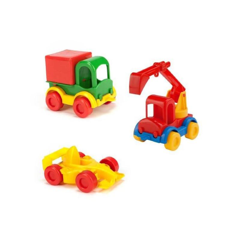 WADER KIDS CARS PLASTIKOWE AUTKO 60000