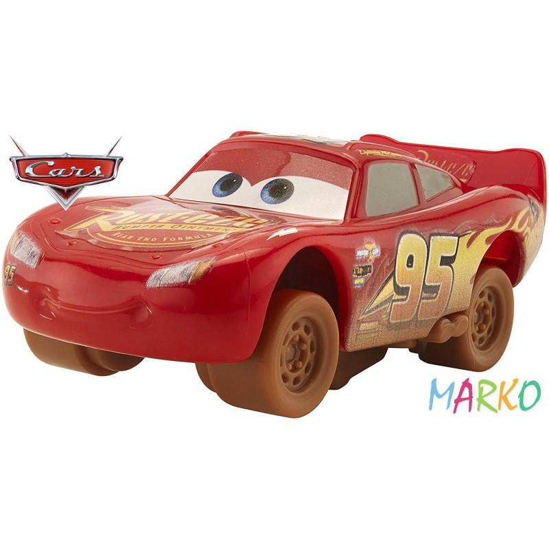 MATTEL CARS 3 ZWARIOWANA ÓSEMKA  LIGHTING MCQUEEN