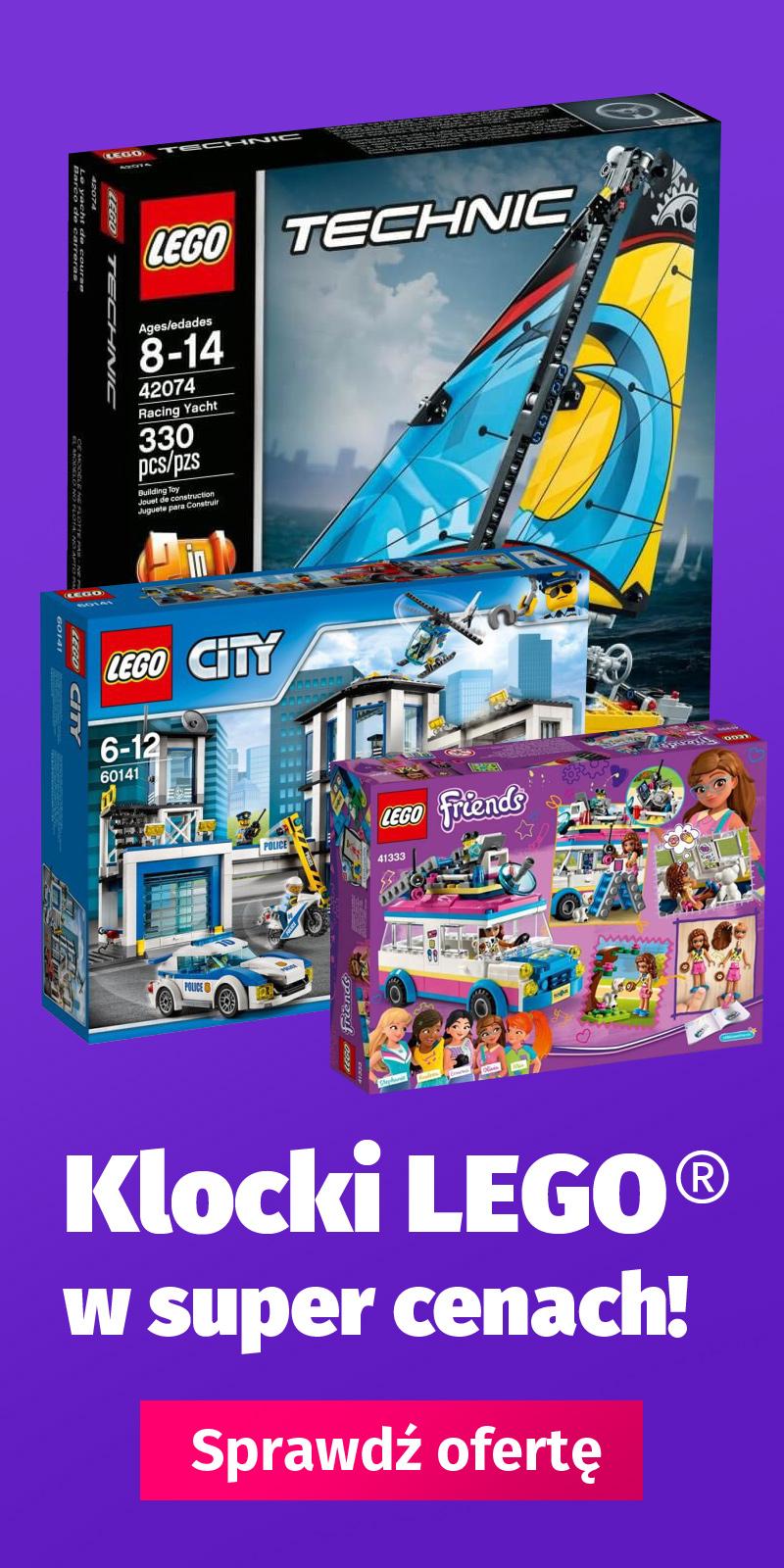 Klocki LEGO w super cenach. Sprawdź ofertę!